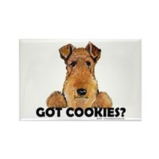 Lakeland Terrier Cookies Rectangle Magnet