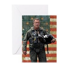 George W. Bush Patriotic Greeting Cards (Package o