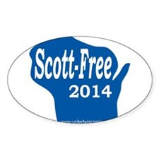 Scott-Free Wisconsin Decal