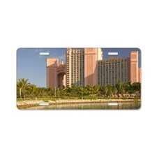 Nassau: Atlantis Resort & C Aluminum License Plate