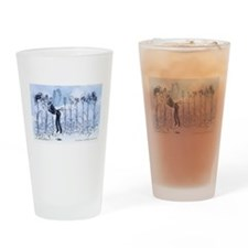 Cute March Drinking Glass