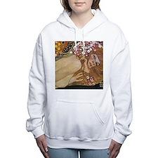 Cute Nude women Women's Hooded Sweatshirt