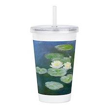 Claude Monet Water Lilies Acrylic Double-wall Tumb