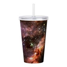 M17 Stellar Cluster Acrylic Double-wall Tumbler