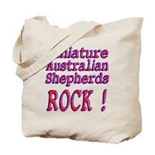 Miniature Australian Shepherds Tote Bag