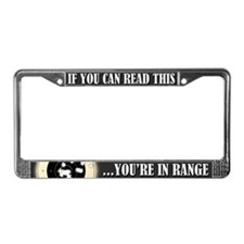 In Range License Plate Frame