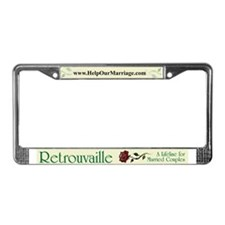Unique Numbers License Plate Frame