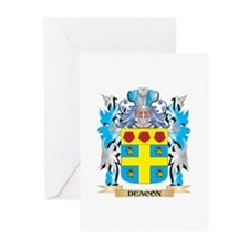 Deacon Coat of Arms - Family Crest Greeting Cards