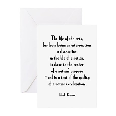 A Life in the Arts...Greeting Cards (Pk of 10)