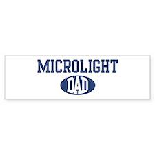 Microlight dad Bumper Bumper Sticker