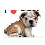 Unique Bulldog Postcards (Package of 8)
