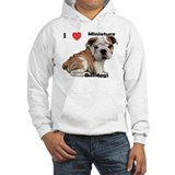 Cute Minature english bulldog pictures Hoodie