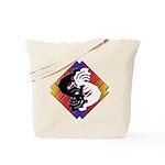 Kokopelli Yin Yang Tote Bag