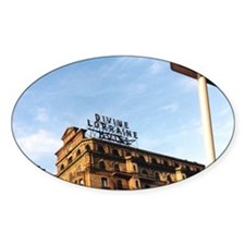 Divine Lorraine Hotel Oval Decal