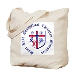 St. Luke's Tote Bag with Round Text
