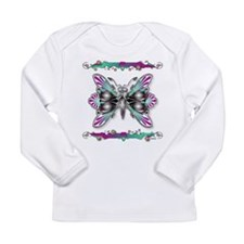 Unique Baby butterfly Long Sleeve Infant T-Shirt