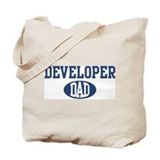 Developer dad Tote Bag