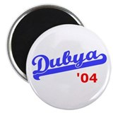 "Dubya Ball 2.25"" Magnet (10 pack)"