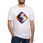 Kokopelli Yin Yang Fitted T-Shirt