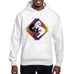 Kokopelli Yin Yang Hooded Sweatshirt