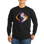 Kokopelli Yin Yang Long Sleeve Dark T-Shirt
