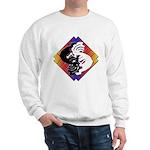 Kokopelli Yin Yang Sweatshirt