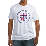 St. Luke's Fitted T-Shirt with Full Sized Graphic
