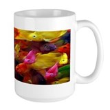 Large Bright Fish Mug