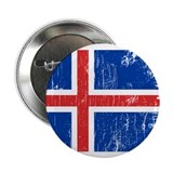 "Vintage Iceland 2.25"" Button (10 pack)"