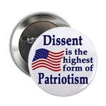 Dissent is Patriotism Button (10 pack)