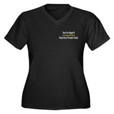 Hugged Respiratory Therapist Women's Plus Size V-N