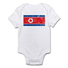 Vintage North Korea Infant Bodysuit
