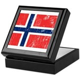 Vintage Norway Keepsake Box