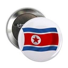 "North Korea Flag 2.25"" Button (100 pack)"