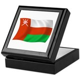 Oman Flag Keepsake Box