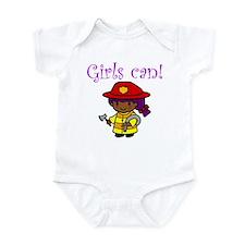 Girl Firefighter Infant Bodysuit