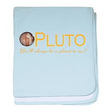 Cute Pluto baby blanket