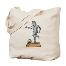 Soccer Trophy Tote Bag
