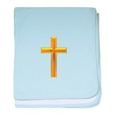 Golden Cross 2 baby blanket