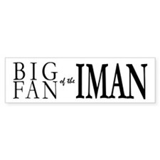 Fan of Iman Bumper Bumper Sticker
