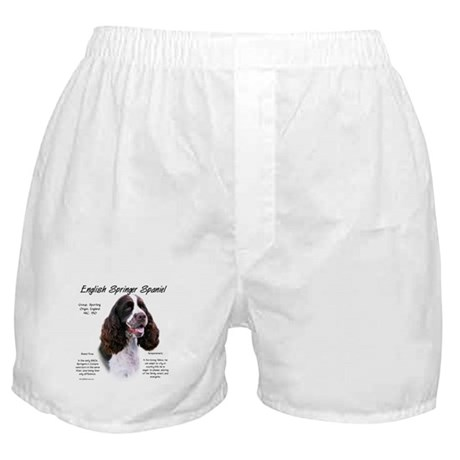 Liver English Springer Boxer Shorts