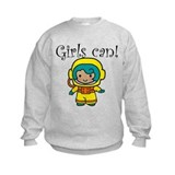 Girl Astronaut Sweatshirt
