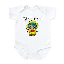 Girl Astronaut Infant Bodysuit