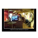 Coffee Bar at Dusk Postcards (Package of 8)