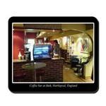 Coffee Bar at Dusk Mousepad