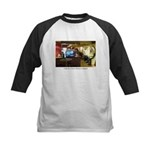 Coffee Bar at Dusk Kids Baseball Jersey