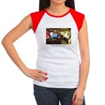 Coffee Bar at Dusk Women's Cap Sleeve T-Shirt