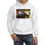 Coffee Bar at Dusk Hooded Sweatshirt