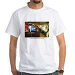 Coffee Bar at Dusk White T-Shirt