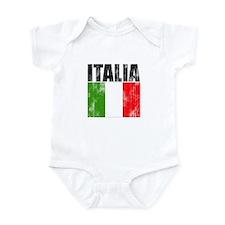 Faded Italia Infant Bodysuit
